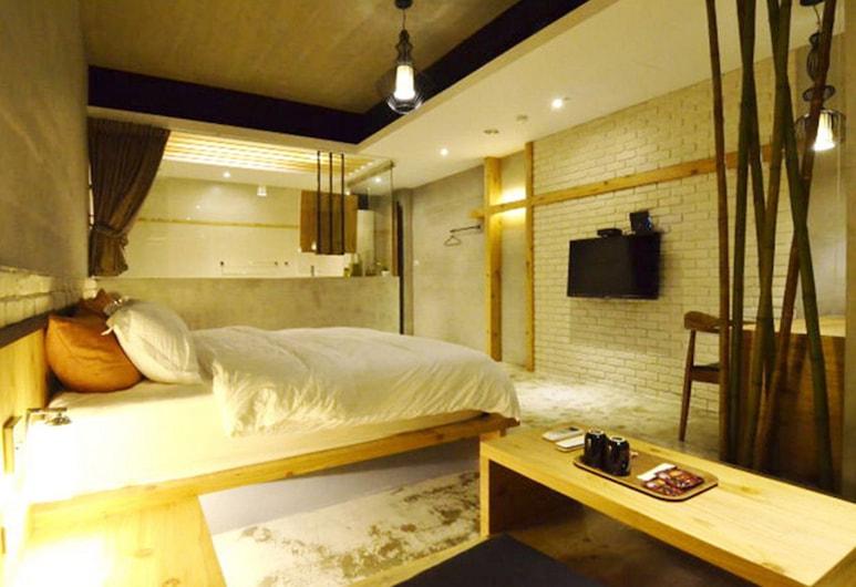 Hotian Inn, Donggang, Gallery Double Room, 1 Queen Bed, Non Smoking, Guest Room