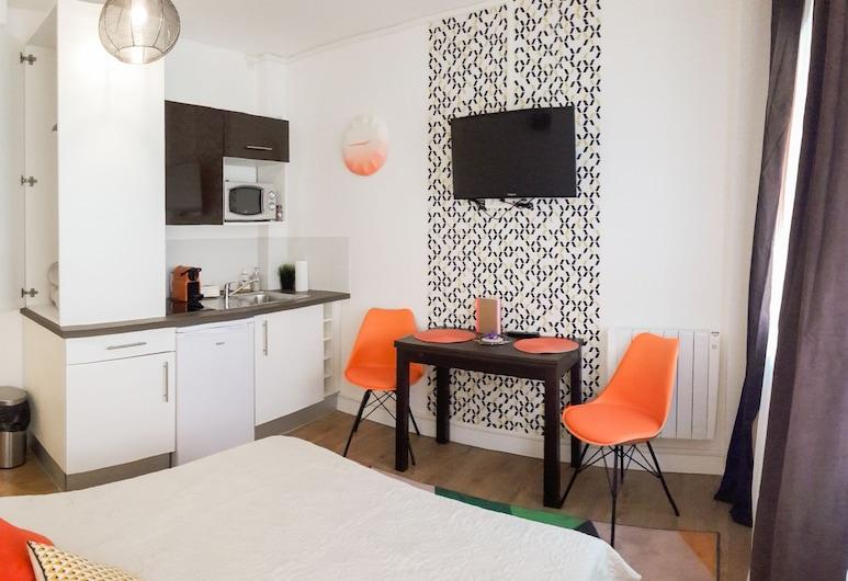 Studio Sympa, טולוז, סטודיו, מיטה זוגית, ללא עישון, חדר