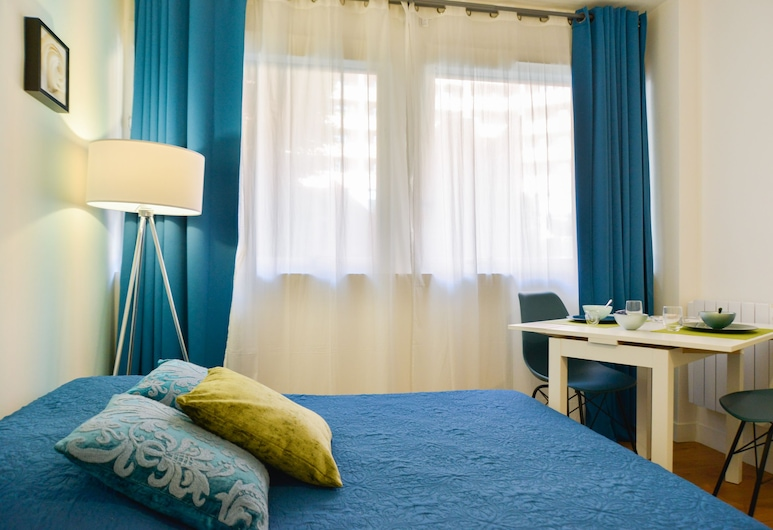 Studio Cosy, טולוז, דירה, מיטה זוגית, ללא עישון, חדר