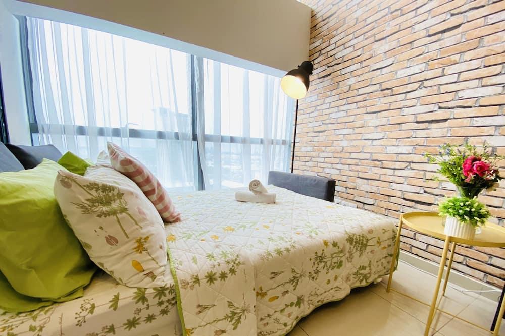 غرفة ديلوكس مستويين - لغير المدخنين - منطقة المعيشة