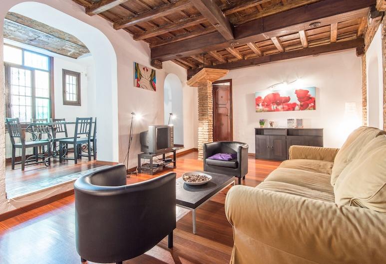 盧斯 - 旅遊住宅酒店, 羅馬, 公寓, 2 間臥室, 客廳