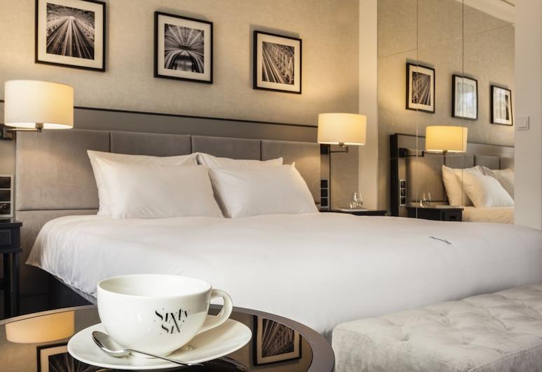 호텔 식스티식스, 바르샤바, 디럭스 더블룸, 객실