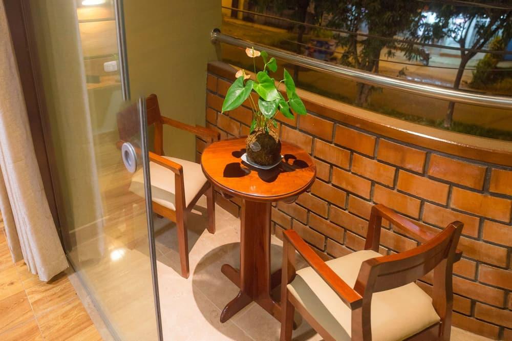Quarto Duplo, 1 cama queen-size, Casa de Banho Privativa - Terraço/Pátio Interior