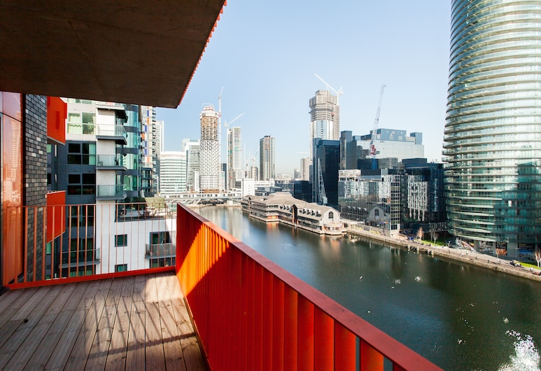 Clover Court, London, Superior Apartment, 2 Bedrooms, City View