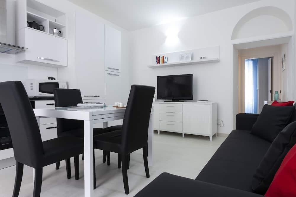 Apartament, 1 sypialnia - Powierzchnia mieszkalna