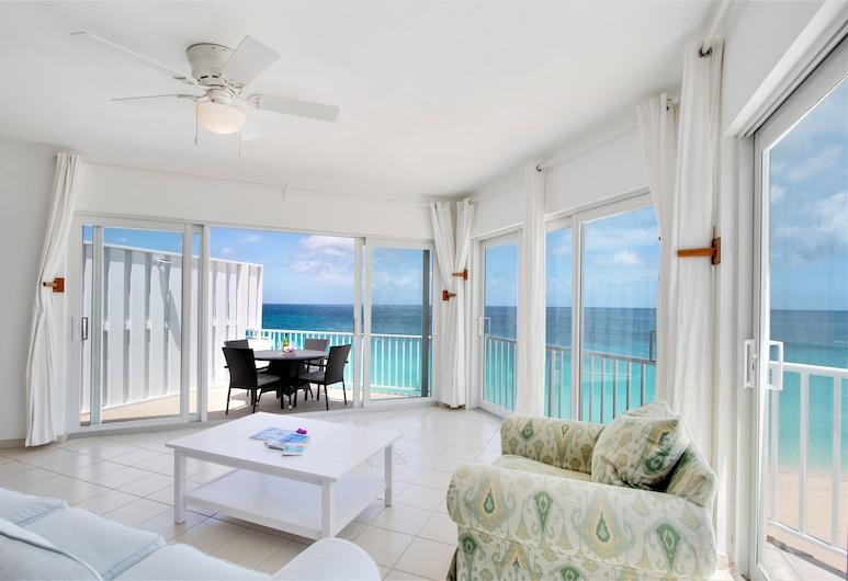Turtles Nest Beach Resort, West End Village, Standard-Apartment, 1King-Bett, Nichtraucher, Küche, Strand-/Meerblick