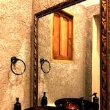 디럭스 더블룸, 더블침대 2개, 금연 - 욕실