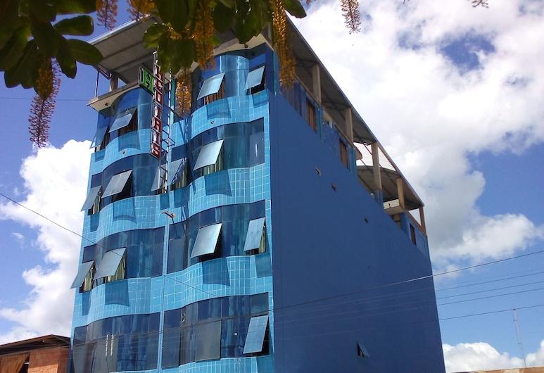 Hotel Arco Iris, Tambopata, Viešbučio fasadas
