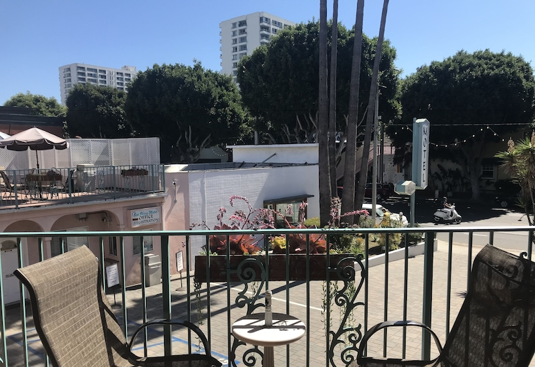 Sea Shore Motel, Santa Monica, Quarto Duplo Comfort, 2 camas de casal, Não-fumadores, Varanda