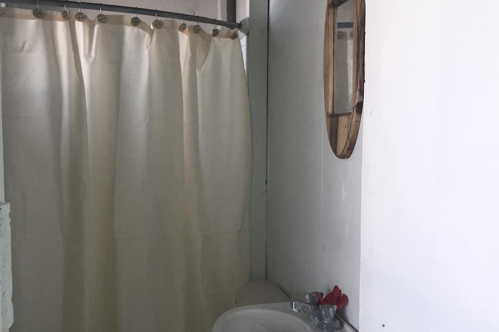 舒適雙人房, 1 張小型雙人床, 吸煙房 - 浴室