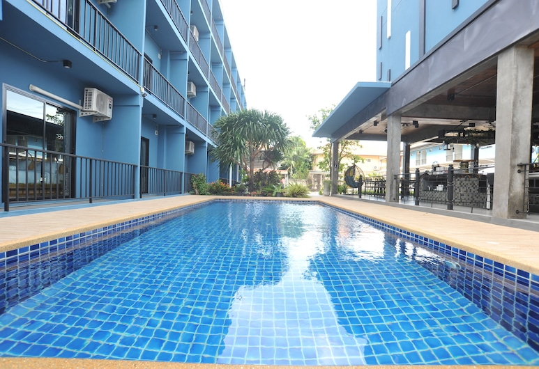 Nine Blue Residence, Pattaya, Outdoor Pool