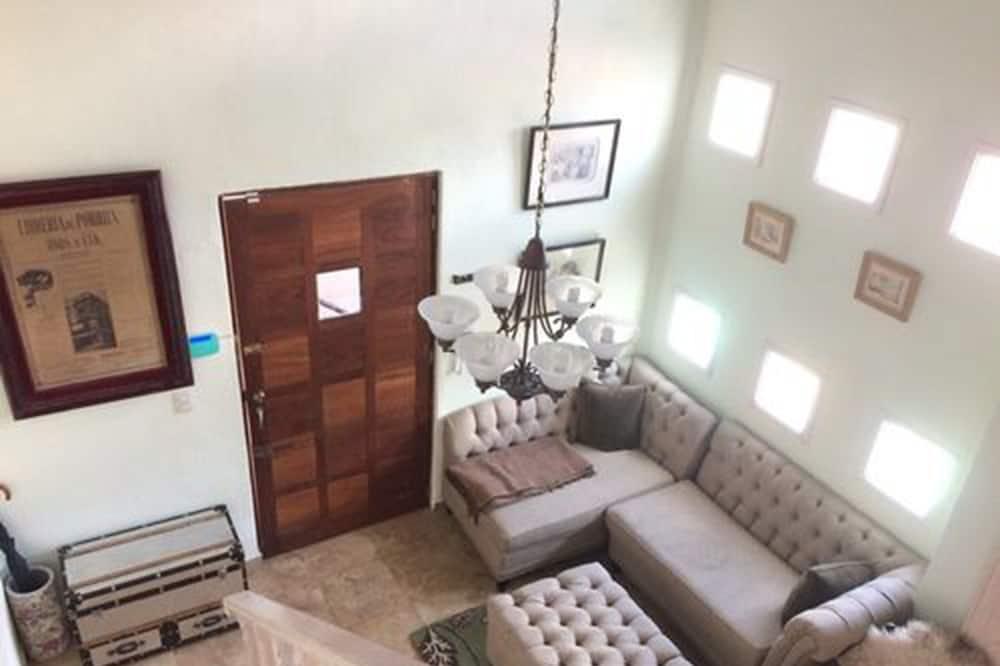 בית דה-לוקס, מיטת קווין, ללא עישון - אזור מגורים