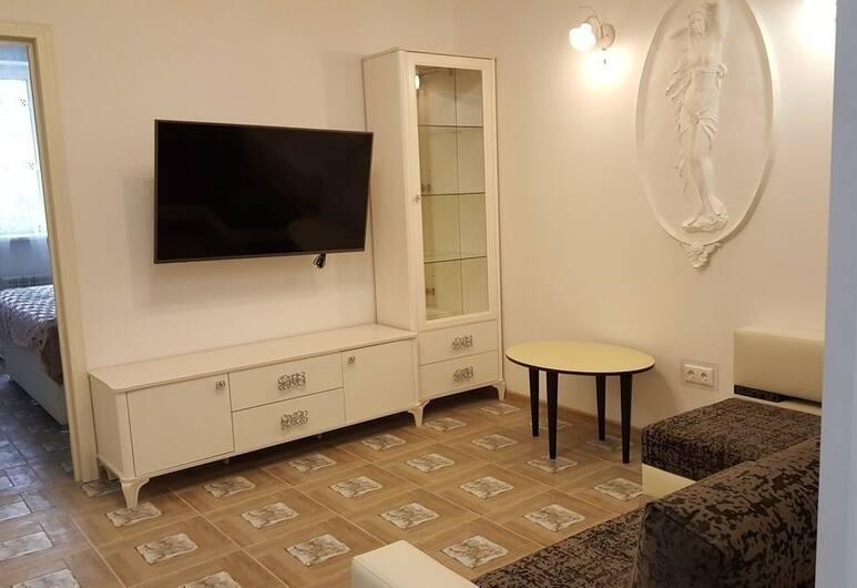 LOFT STUDIO Lux Novokosinskaya, Moskwa, Apartament, Salon