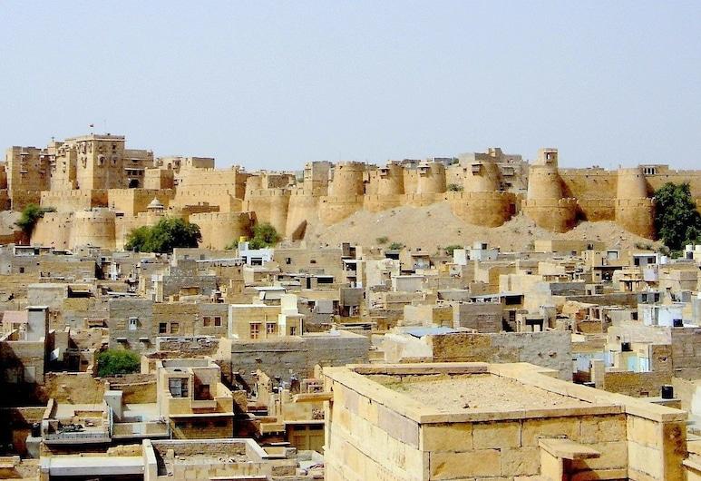 Hotel Rose Fort Jaisalmer, Jaisalmer, Terrace/Patio