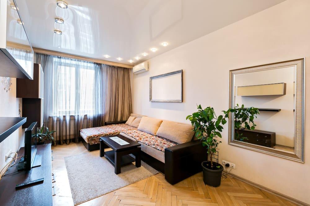Departamento Deluxe, 3 habitaciones - Sala de estar
