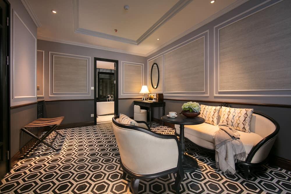 Suite, Terrasse - Wohnbereich