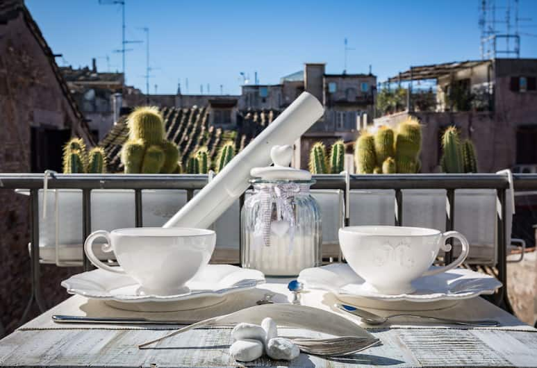 Campo Penthouse, Rome, Apartment, Balcony