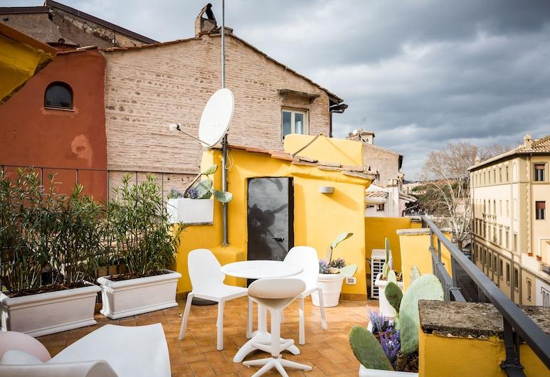 Navona Sunshine Big Terrace, Róma, apartman, terasz, Terasz/udvar