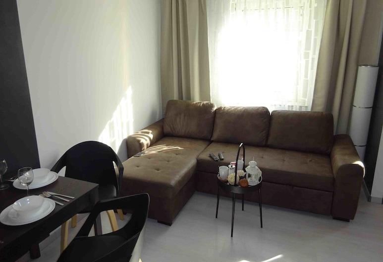 Dream & Relax Apartment's Allersberger, Nuremberg, Comfort Apartment, Kitchen, Living Area