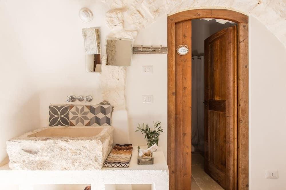 豪華雙人房, 1 張標準雙人床, 非吸煙房, 花園景觀 - 浴室