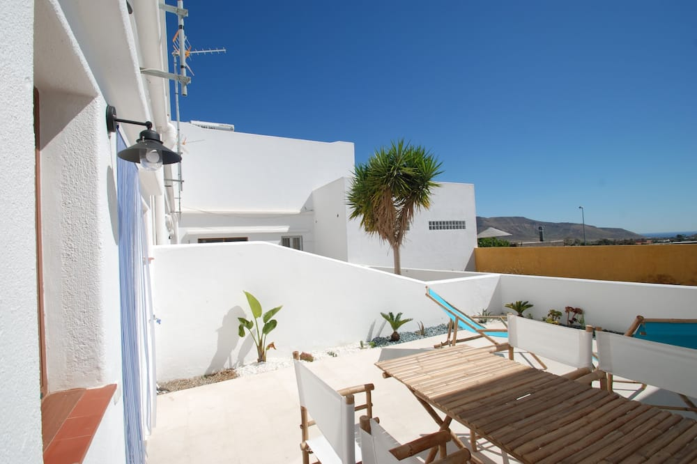 Hus - 1 soveværelse - Terrasse/patio