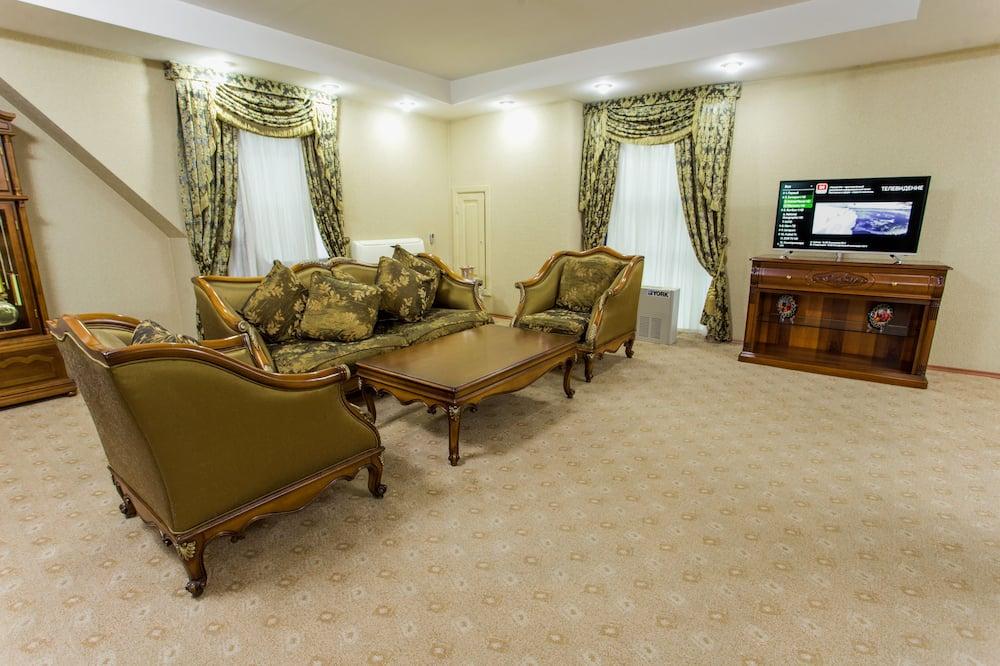 Prezidentinės klasės apartamentai, 1 miegamasis - Svetainė