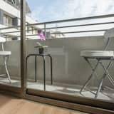 Apartamentai, 2 miegamieji, atskiras vonios kambarys (A1) - Balkonas