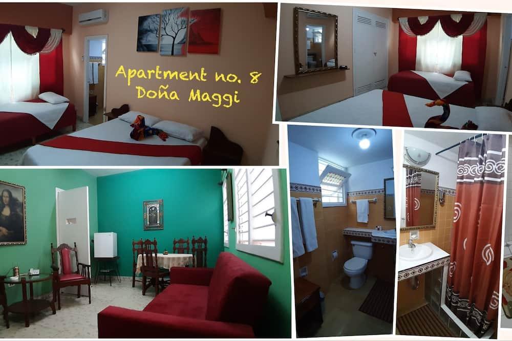 Exclusive Apartment, 2 Bedrooms, Terrace - Guest Room
