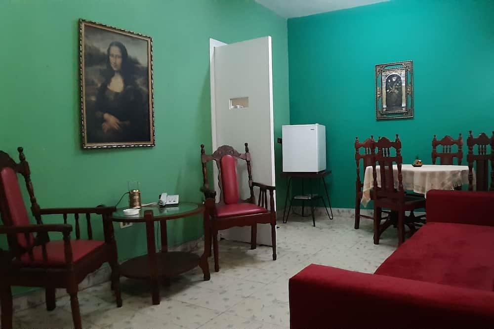 Exclusive Apartment, 2 Bedrooms, Terrace - Living Area