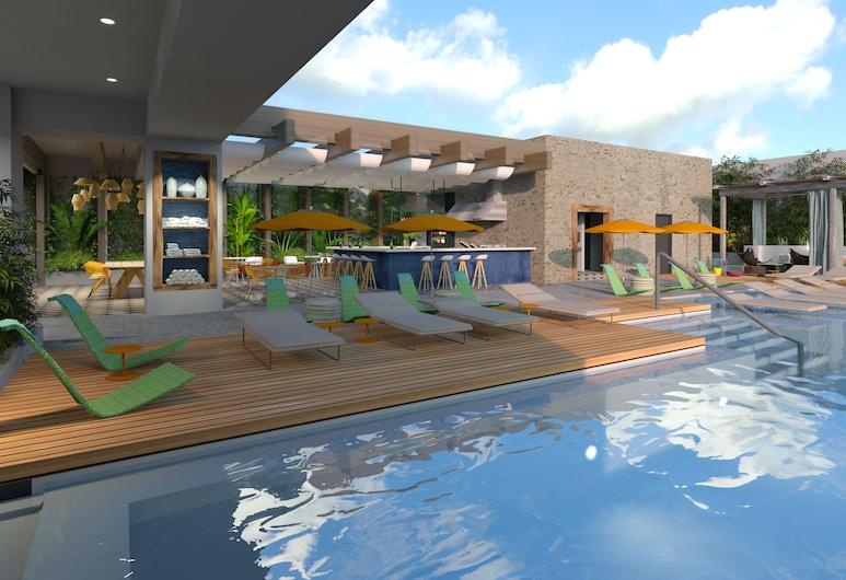 Hyatt Centric Las Cascadas San Salvador, Antiguo Cuscatlan, Rooftop Pool