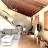 豪華獨棟房屋, 3 間臥室, 山景, 花園 - 客廳