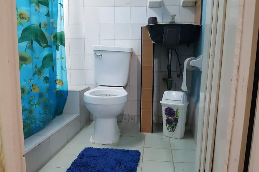 Perushuone kolmelle, Useita sänkyjä, Tupakointi kielletty - Kylpyhuone