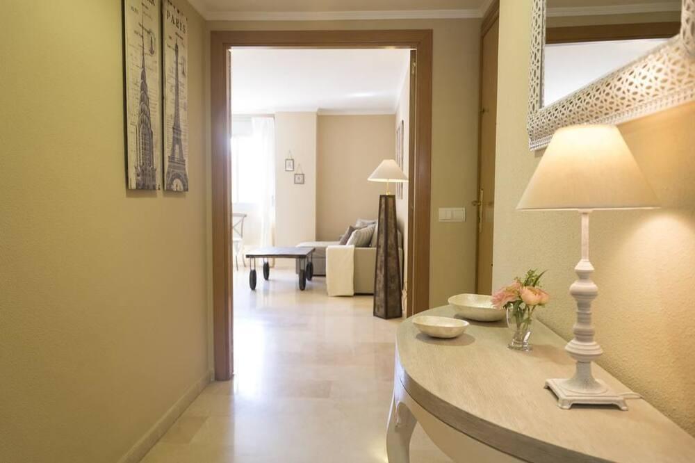 apartman, 3 hálószobával, erkély - Nappali rész