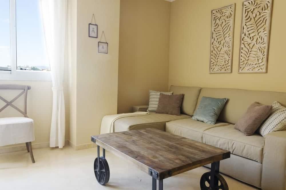 apartman, 3 hálószobával, erkély - Nappali