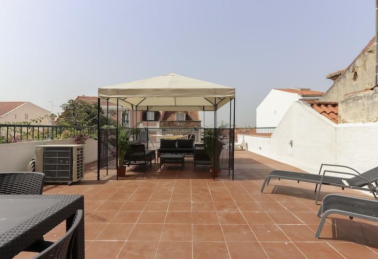 Lapa Terrace by Homing, Lissabon, Lejlighed - 2 soveværelser - terrasse (Rua do Quelhas 35 1st floor), Terrasse/patio