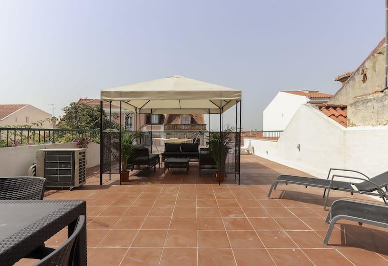 Lapa Terrace by Homing, Lisbona, Appartamento, 2 camere da letto, terrazzo (Rua do Quelhas 35 1st floor), Terrazza/Patio