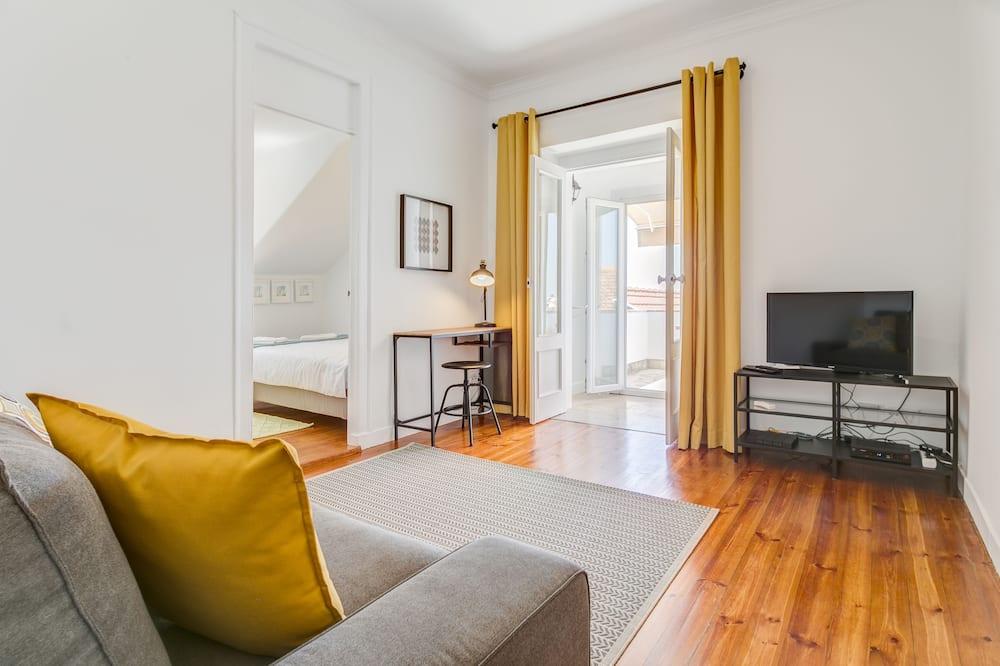 Appartement, 2 slaapkamers, terras - Woonkamer