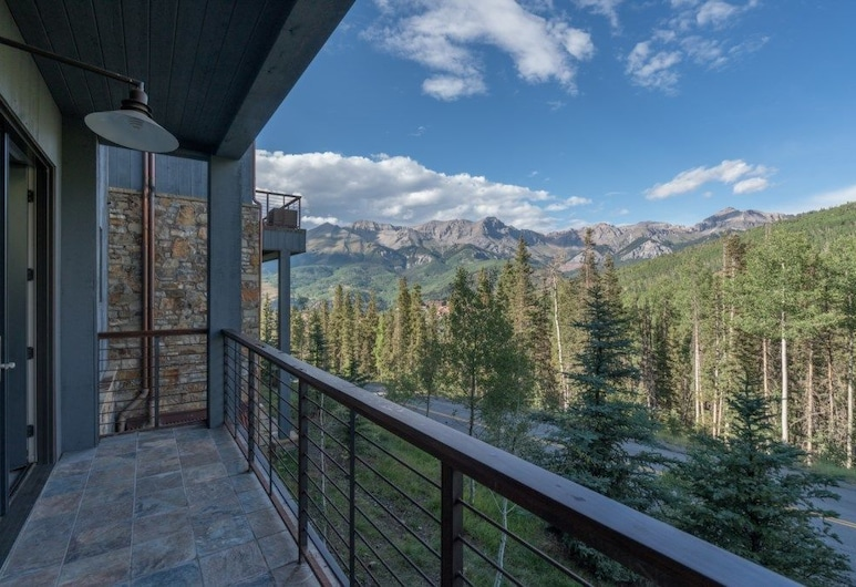 Breathtaking Mountain Views - 3 Br Townhome, Telluride, Mieszkanie, 3 sypialnie, Balkon