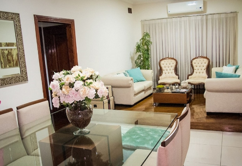 Pousada Araçatuba, Aracatuba, Economy Double or Twin Room, 2 Single Beds, Non Smoking, Lobby Sitting Area