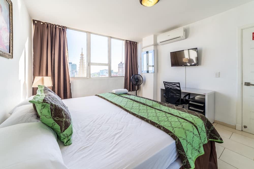 럭셔리 아파트, 침실 2개, 발코니 - 욕실 편의 시설