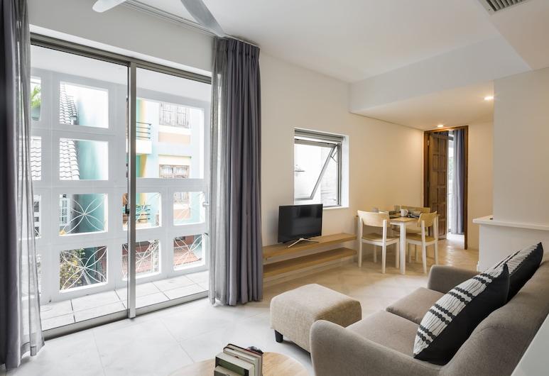 The Tropical Residence Serviced Homestay, Bandar Raya Ho Chi Minh, Family Suite, Bilik Rehat