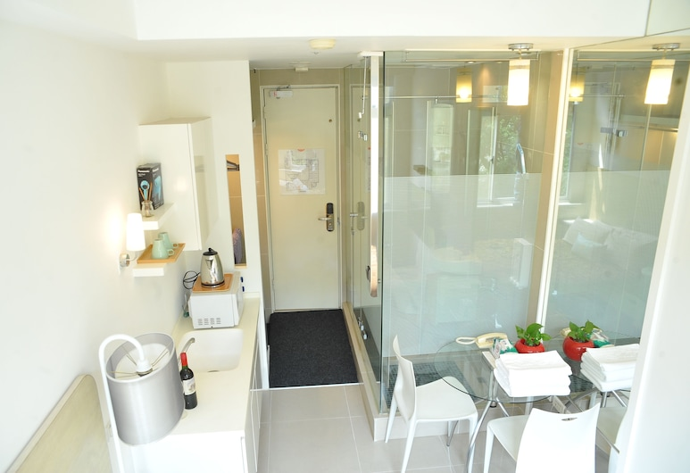 EJIA Hotel & Service Apartment, Taipei, Economy Double Room, 1 Katil Kelamin (Double), Accessible, Bilik Tamu