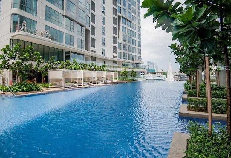 羅伯斯頓馬塔哈里套房酒店, 吉隆坡, 室外泳池