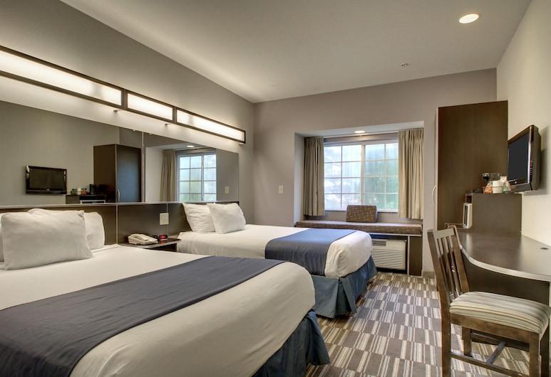 Microtel Inn & Suites by Wyndham Tuscaloosa/Near University, Tuscaloosa, Standartinio tipo kambarys, 2 didelės dvigulės lovos, Svečių kambarys
