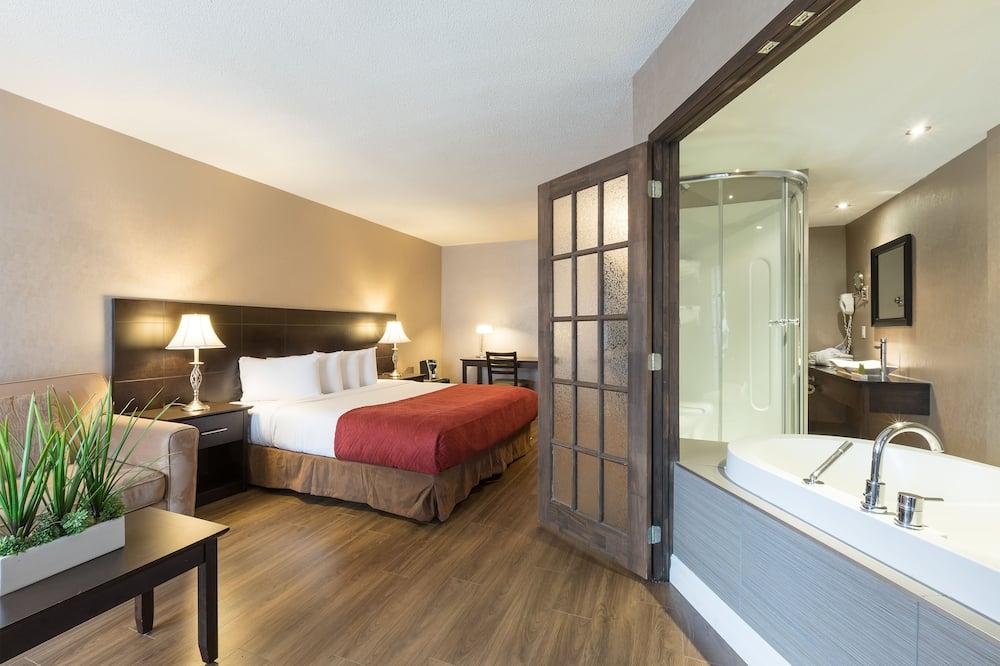 Pokoj typu Deluxe, dvojlůžko (200 cm), vířivka - Koupelna