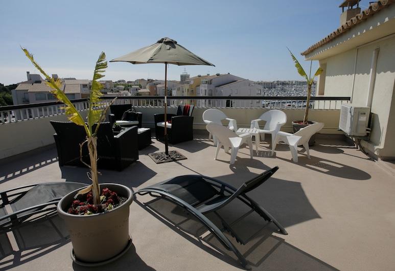 Brit Hotel Opal Centre Port, Agde, Rom – family, Terrasse/veranda