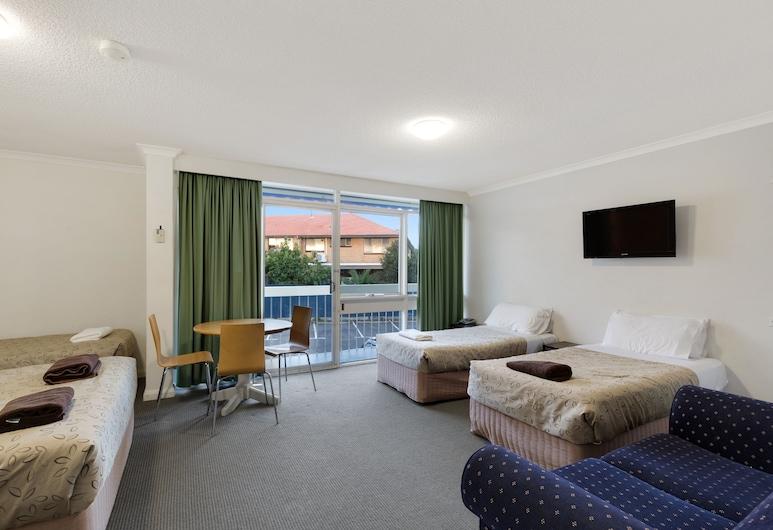Alexander Motor Inn & Apartments, Essendon, Familien-Vierbettzimmer, 1 Schlafzimmer, Zimmer