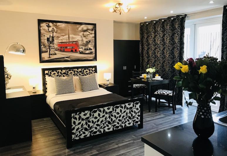 赭色公寓酒店, 倫敦, 家庭開放式客房, 客房