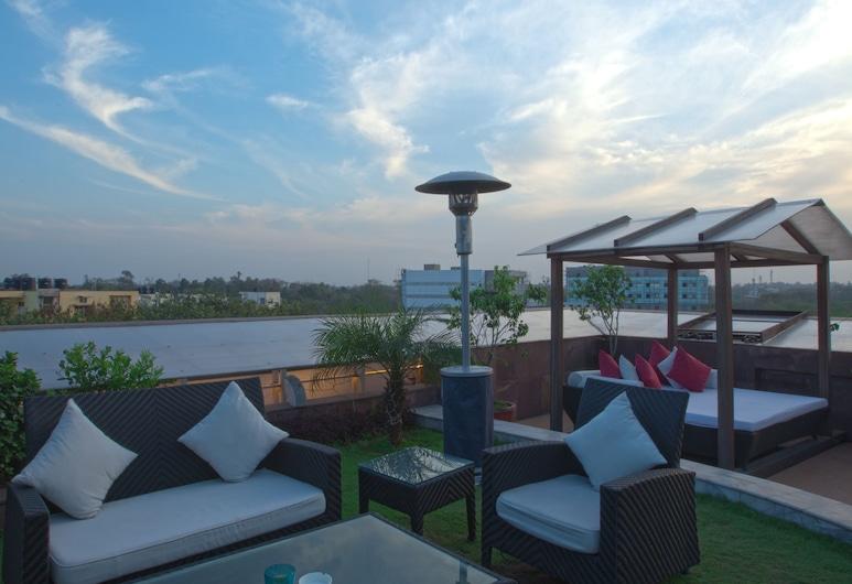 特雷布特萊斯特琥珀酒店, 新德里, 陽台