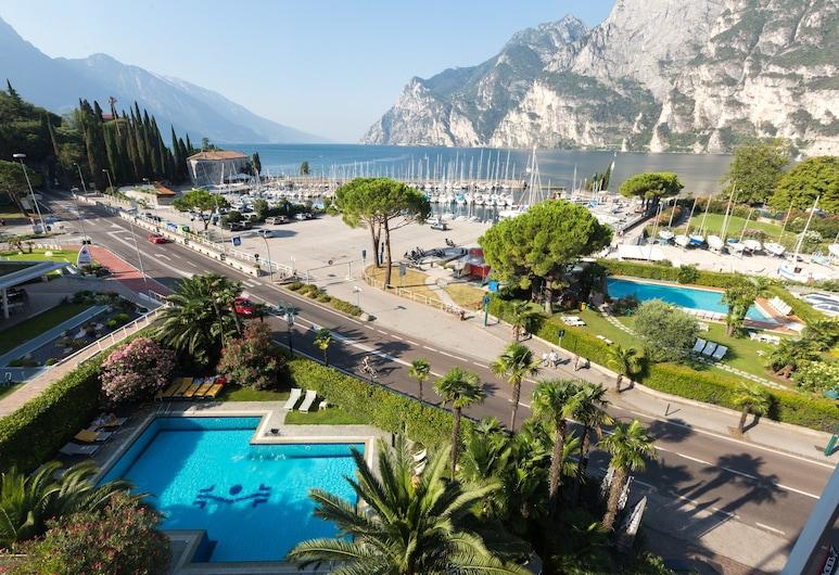 Lake Front Hotel Mirage, Riva del Garda, Suite – junior, balkong, utsikt mot innsjø, Utsikt fra gjesterommet